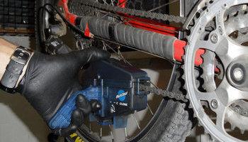 kerékpár lánc karbantartás láncmosó