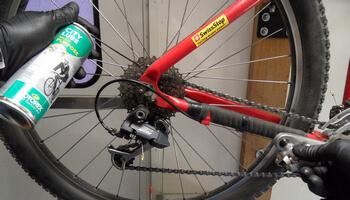 kerékpár lánc karbantartás olajozás