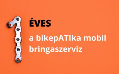 1 éves a bikepATIka mobil bringaszerviz