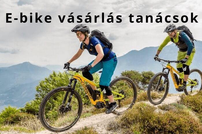 E-bike vásárlás tanácsok – hogyan találd meg a neked megfelelő elektromos kerékpárt?