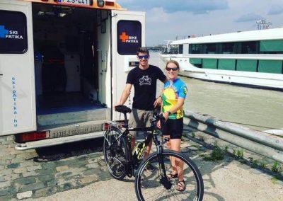 dunai hajón a bikepatika mobil bringaszerviz