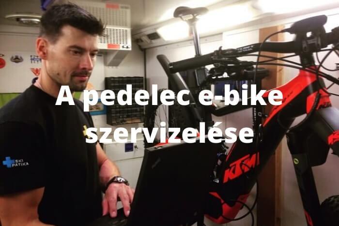 pedelec e-bike szervizelése computer