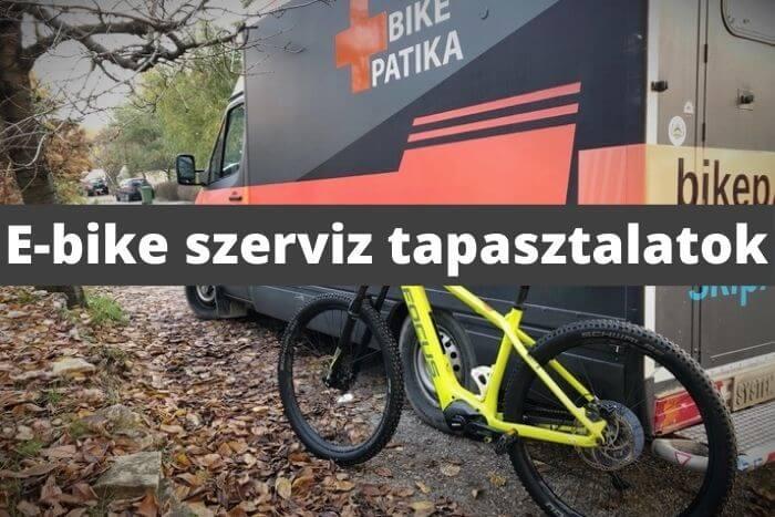 e-bike szerviz tapasztalatok